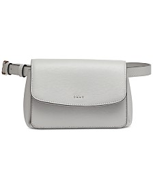 DKNY Paige Leather Belt Bag, Created for Macy's