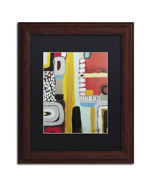 "Trademark Global Sylvie Demers 'Chemins' Matted Framed Art - 14"" x 11"" x 0.5"""