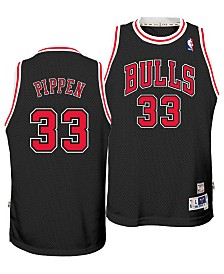 adidas Big Boys Scottie Pippen Chicago Bulls Retired Player Swingman Jersey