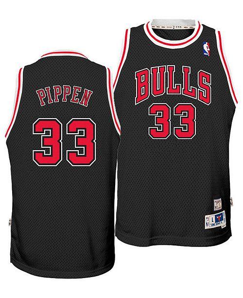 the latest e3681 24a4c Big Boys Scottie Pippen Chicago Bulls Retired Player Swingman Jersey