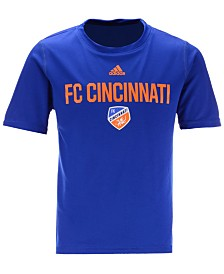 adidas Little Boys FC Cincinnati Locker Stacked T-Shirt