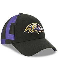 New Era Little Boys Baltimore Ravens Draft 39THIRTY Stretch Fitted Cap
