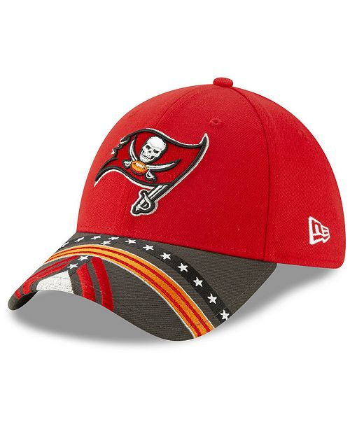 New Era Little Boys Tampa Bay Buccaneers Draft 39THIRTY Stretch Fitted Cap