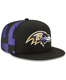 New Era Little Boys Baltimore Ravens Draft 59FIFTY Fitted Cap