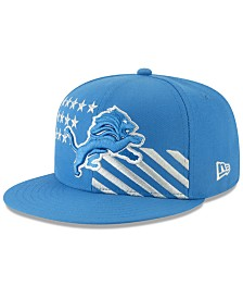 New Era Big Boys Detroit Lions Draft 59FIFTY Fitted Cap