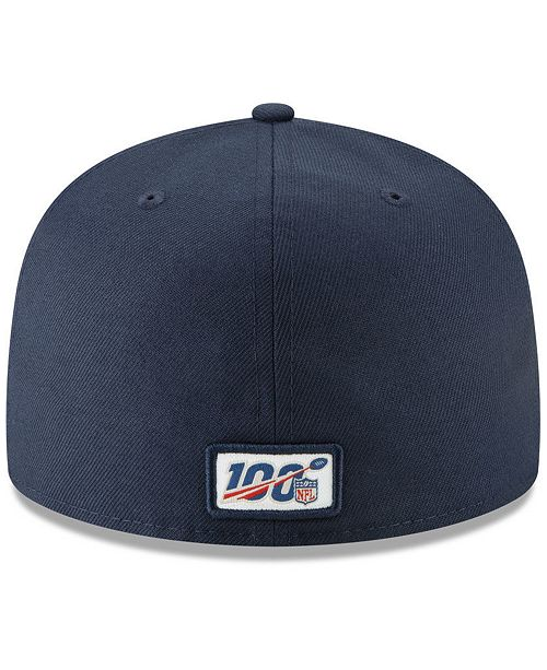 online store 8fbbf 0b307 New Era Little Boys New England Patriots Draft 59FIFTY Fitted Cap ...