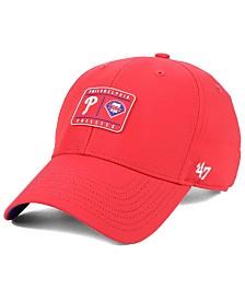 '47 Brand Philadelphia Phillies Silicone Patch MVP Adjustable Cap