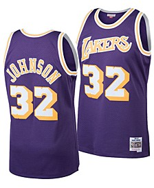 Big Boys Magic Johnson Los Angeles Lakers Hardwood Classic Swingman Jersey
