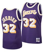 ce0aabec1 Mitchell   Ness Big Boys Magic Johnson Los Angeles Lakers Hardwood Classic  Swingman Jersey