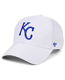 '47 Brand Kansas City Royals White MVP Cap