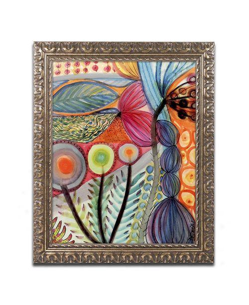 "Trademark Global Sylvie Demers 'Vivaces' Ornate Framed Art - 20"" x 16"" x 0.5"""