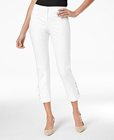 Cropped Lace-Up Pants, Created for Macy's