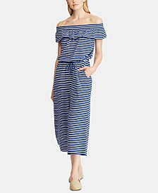 Lauren Ralph Lauren Striped Jumpsuit
