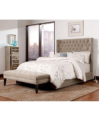 Ailey Queen 3-Pc. Bedroom Set (Bed, Nightstand