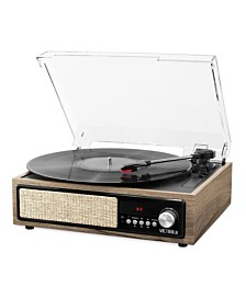 Victrola 3-in-1 Bluetooth Record Player with Built in Speakers and 3-Speed Turntable