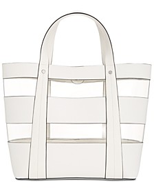 INC Clear Block Tote, Created for Macy's