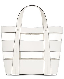 I.N.C. Clear Block Tote, Created for Macy's