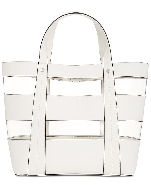 INC International Concepts INC Clear Block Tote, Created for Macy's