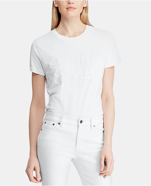 Lauren Ralph Lauren Monogram T-Shirt