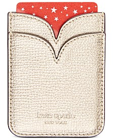 kate spade new york Sylvia Leather Double Sticker Phone Pocket