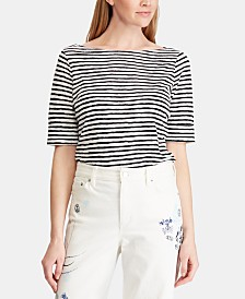 Lauren Ralph Lauren Striped Lightweight Top