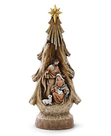 Napco Tree Shape Holy Family
