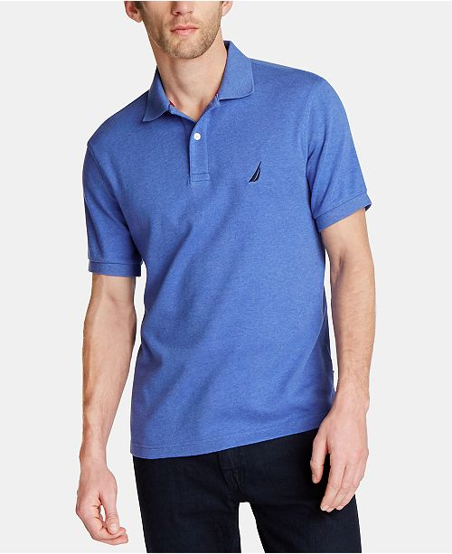 Nautica Men's Classic Fit Soft Touch Polo