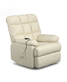 Power Recline and Lift Wall Hugger Chair