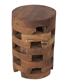 Hison Teak Accent Table