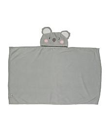 Toddler Plush Koala Hooded Blanket