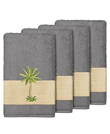 Turkish Cotton Colton 4-Pc. Embellished Bath Towel Set