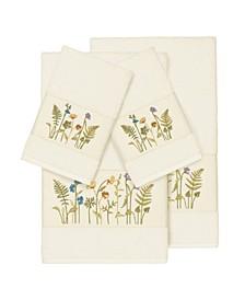 Turkish Cotton Serenity 4-Pc. Embellished Towel Set