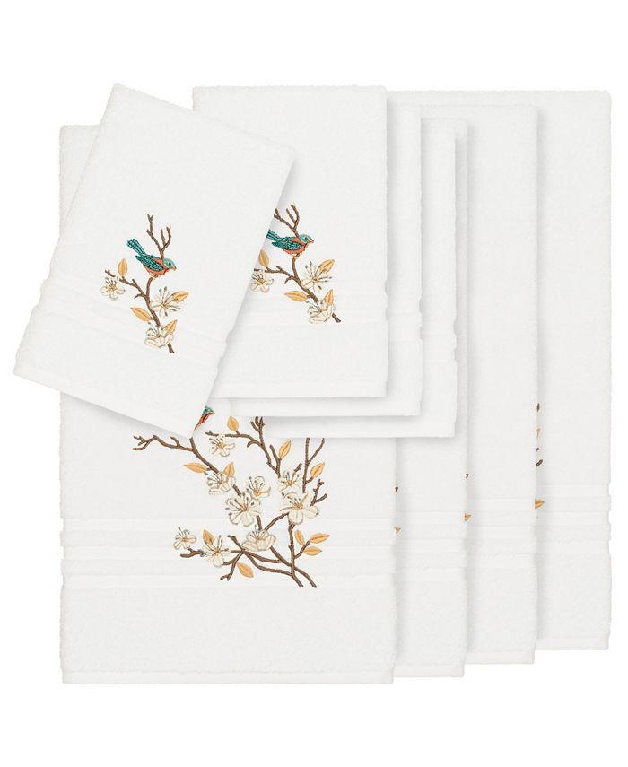 Linum Home - Turkish Cotton Springtime 8-Pc. Embellished Towel Set