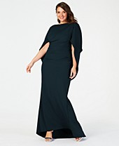 Betsy & Adam Green Plus Size Dresses - Macy\'s