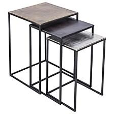 Threefold 3pc Table Set, Quick Ship