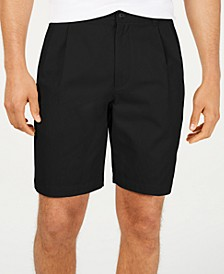 "Men's Double-Pleated 9"" Shorts, Created for Macy's"
