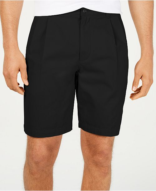 "Club Room Men's Double-Pleated 9"" Shorts, Created for Macy's"