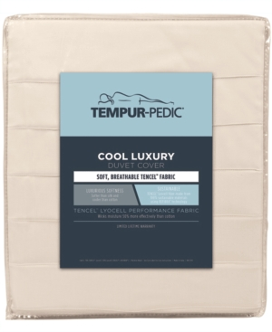 Tempur-Pedic Cool Luxury King Duvet Cover Bedding