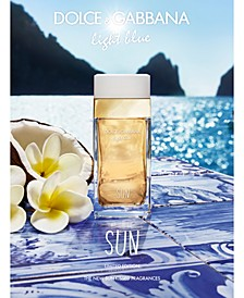 DOLCE&GABBANA Light Blue Sun Pour Femme Eau de Toilette Fragrance Collection