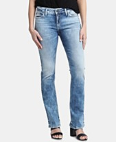 28f11811 Silver Jeans Co. Elyse Slim Bootcut Jeans