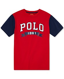 Polo Ralph Lauren Big Boys Americana Jersey T-Shirt