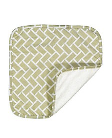 All Over Print Baby Washcloth, Set of 4