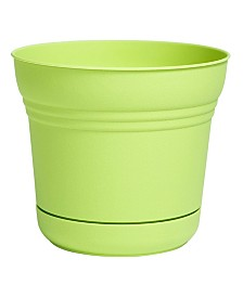 "Bloem 5"" Saturn Planter with Saucer"