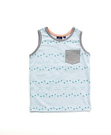 Baby Boy All Over Printed Tank