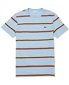 Lacoste Men's Striped Pima T-Shirt