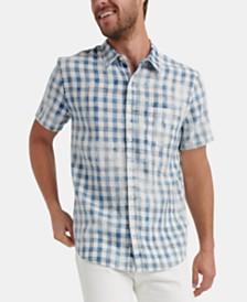 Lucky Brand Men's Woven Plaid Shirt