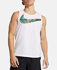 Nike Men's Dri-FIT Printed Logo Tank Top