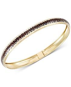 914173a69b708 Macy's Gold Bangle Bracelets: Shop Gold Bangle Bracelets - Macy's