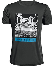 Under Armour Big Boys Photorealistic Football Logo Graphic T-Shirt