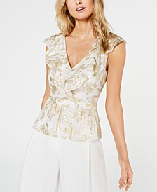 Diana Ruffled Peplum Top
